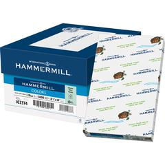 """Hammermill Fore Super Premium Paper - Legal - 8.50"""" x 14"""" - 20 lb Basis Weight - Recycled - 30% Recycled Content - 500 / Ream - Green"""