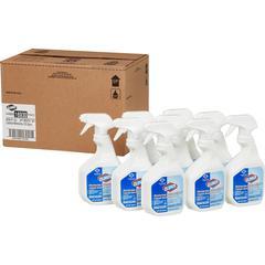 Clorox Disinfecting Bathroom Cleaner - Spray - 0.23 gal (30 fl oz) - Bottle - 9 / Carton - White
