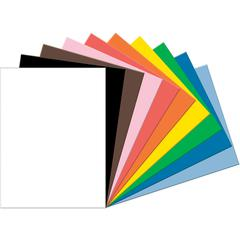 """Tru-Ray Heavyweight Construction Paper - 18"""" x 24"""" - 50 / Pack - Assorted - Sulphite"""