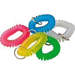 Baumgartens Wrist Coil Key Chain - 1 / Each - Assorted