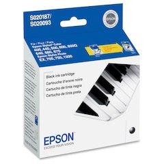 Epson Black Ink Cartridge - Inkjet - 380 Pages - 1 Each
