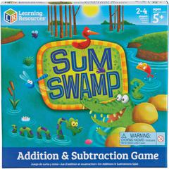 Learning Resources Sum Swap Addition/Subtraction Game - Educational - 2 to 4 Players