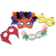 ChenilleKraft Foam Mask Kit - Classroom Activities - 1 / Pack - Assorted