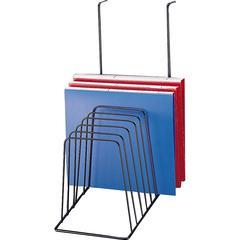 Kantek Partition Incline Sorter - 8 Compartment(s) - Desktop - Black - 1Each