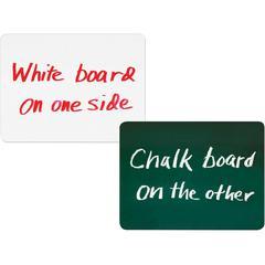 """ChenilleKraft 2-in-1 Board Chalk/Whiteboard Combo - 12"""" (1 ft) Width x 9"""" (0.8 ft) Height - Rectangle - 1 Each"""