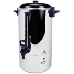 Coffee Pro Stainless Steel Commercial Percolating Urn - 80 Cup(s) - Multi-serve - Stainless Steel