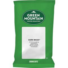 Green Mountain Coffee Roasters Dark Magic Coffee - Regular - Full/Extra Dark/Extra Bold - 50 / Carton