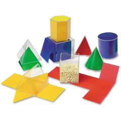 Learning Resources Folding Geometric Shapes Set - Theme/Subject: Learning - Skill Learning: Geometry, Shape - 16 Pieces - 7+