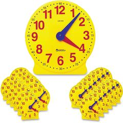 Learning Resources Classroom Clock Kit - Theme/Subject: Learning - Skill Learning: Time - 24 Pieces