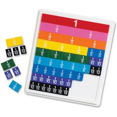 Rainbow Fraction Tiles - Theme/Subject: Learning - Skill Learning: Fraction, Mathematics - 6+