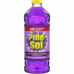 Pine-Sol Lavender Multi-surface Cleaner - Liquid - 0.38 gal (48 fl oz) - Lavender Scent - 8 / Each - Purple