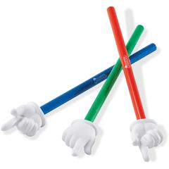 """Learning Resources 15"""" 3-pc Hand Pointers Set - Skill Learning: Social Skills, Cognitive Process, Gross Motor, Life Skill, Thinking"""