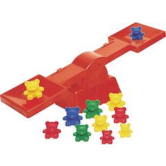 Learning Resources Bear Family Beginner's Balance - Theme/Subject: Learning - Skill Learning: Measurement, Balancing