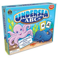 Teacher Created Resources Undersea ABSs Game - Educational - 1 to 4 Players