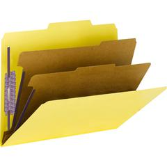 """Smead PressGuard® Classification Folders with SafeSHIELD® Coated Fastener Technology - Letter - 8 1/2"""" x 11"""" Sheet Size - 2"""" Expansion - 6 Fastener(s) - 2"""" Fastener Capacity for Folder, 1"""" Fas"""
