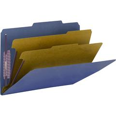 "Smead PressGuard® Classification Folders with SafeSHIELD® Coated Fastener Technology - Legal - 8 1/2"" x 14"" Sheet Size - 2"" Expansion - 6 Fastener(s) - 2"" Fastener Capacity for Folder, 1"" Fast"