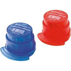 Baumgartens Stapleless Stapler - 3 Sheets Capacity - Red, Blue