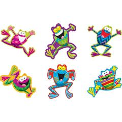 """Trend Frog-tastic! Classic Accents Variety Pack - 5.50"""" Height - Assorted - 36 / Pack"""