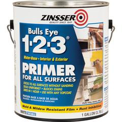 Zinsser Bulls Eye 1-2-3 Primer - 1 gal - 1 Each - White