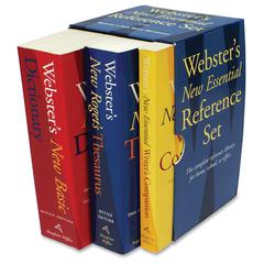 Houghton Mifflin Webster's New Essential Ref. Set Reference Printed Manual - English - Book - 298 Pages