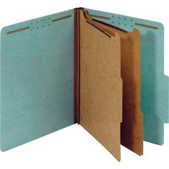 """Pendaflex 2-divider Recycled Classification Folders - Letter - 8 1/2"""" x 11"""" Sheet Size - 2 1/2"""" Expansion - 2 Fastener(s) - 2"""" Fastener Capacity, 1"""" Fastener Capacity for Divider - 2/5 Tab Cut - Right"""