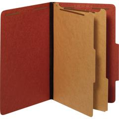"""Pendaflex 2-divider Recycled Classifictn Folders - Legal - 8 1/2"""" x 14"""" Sheet Size - 2 1/2"""" Expansion - 6 Fastener(s) - 2"""" Fastener Capacity - 2/5 Tab Cut - Right Tab Location - 2 Divider(s) - 25 pt."""