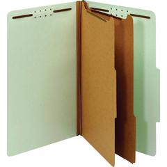 "Pendaflex 2-divider Recycled Classification Folders - Legal - 8 1/2"" x 14"" Sheet Size - 2 1/2"" Expansion - 6 Fastener(s) - 2"" Fastener Capacity - 2/5 Tab Cut - Right Tab Location - 2 Divider(s) - 25 p"