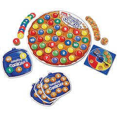 Smart Snacks Counting Cookies Game - Theme/Subject: Learning - Skill Learning: Number, Counting, Matching