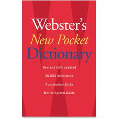 Houghton Mifflin Webster's New Pocket Dictionary Dictionary Printed Book - English - Published on: 2007 August 28 - Book - 336 Pages