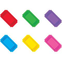 """Trend Classic Accents Mini Winning Tickets Pack - Precut - 3"""" Length - Multicolor - 72 / Set"""