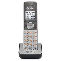 AT&T CL80101 Cordless Accessory Handset for AT&T CL81201 or CL81301, Silver - Cordless