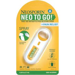 Neosporin To Go Spray - For Pain - 0.26 oz - 1 Each