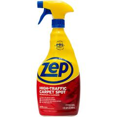 Zep High Traffic Carpet Cleaner - Spray - 0.25 gal (32 fl oz) - 1 Each - Red