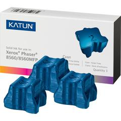 Katun Solid Ink Stick (108R00723) - Solid Ink - 3400 Pages - Cyan - 3 / Box