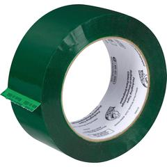 "Duck Brand Commercial Grade Colored Packaging Tape - 1.88"" Width x 109.30 yd Length - 3"" Core - 1.90 mil - Green"