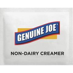 Genuine Joe Nondairy Creamer Packets - 0 lb (0.08 oz) Packet - 800/Box - 1 Serving