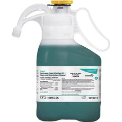 Diversey Restroom Floor/Surface SC Cleaner - Concentrate Spray - 0.37 gal (47.34 fl oz) - Fresh ScentBottle - 1 Each - Green