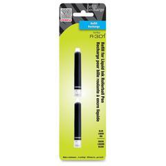 Zebra Pen Rollerball Pen Refill - Blue - 2 / Pack