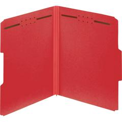 "Pendaflex Colored Pressboard Fastener Folders - Letter - 8 1/2"" x 11"" Sheet Size - 2"" Expansion - 2 Fastener(s) - 2"" Fastener Capacity - 1/3 Tab Cut - Assorted Position Tab Location - 25 pt. Folder Th"