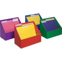 Classroom Keepers Folder Holder Assortment - Assorted - 4 / Set