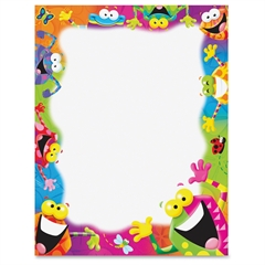 "Trend Frog-tastic! Copy & Multipurpose Paper - Letter - 8.50"" x 11"" - 1 / Pack - Assorted, White"