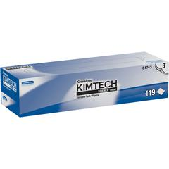 Kimberly-Clark Professional KimWipes Delicate Task Wipers - Wipe - 119 / Box - 1 Box - White