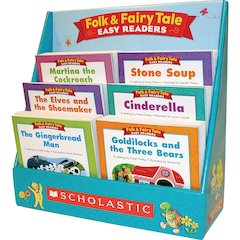 Scholastic Res. Gr K-2 Folk/Fairy Tale Bk Collectn Story Printed Book by Liza Charlesworth - Book