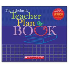Scholastic Res. The Teacher Plan Book - Academic - Storage Pocket, Built-in Calendar