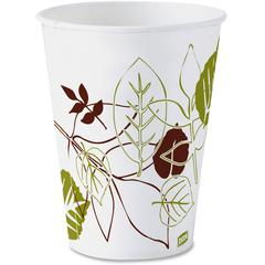 Dixie Pathways Paper Cold Cups - 3 fl oz - 100 / Pack - White - Wax Paper - Cold Drink