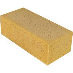 Unger Foam Sponge - 10/Carton - Foam, Cellulose - Tan