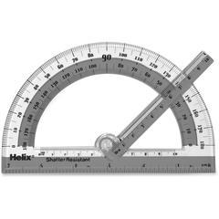 Helix Swing Arm Protractor - Plastic - Assorted