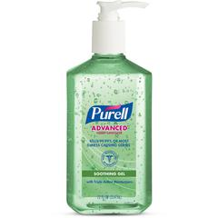 Purell Instant Hand Sanitizer w/ Aloe - 12 oz - Pump Bottle Dispenser - Kill Germs - Hand, Skin - Clear - Non-sticky, Residue-free - 1 Each
