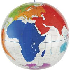 Learning Resources Inflatable Labeling Globe Game - Theme/Subject: Learning - Skill Learning: Geography, History, Trade Route