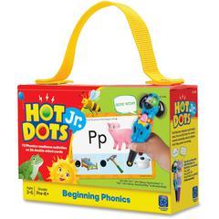 Educational Insights Beg. Phonics Hot Dots Jr Card Set - Word